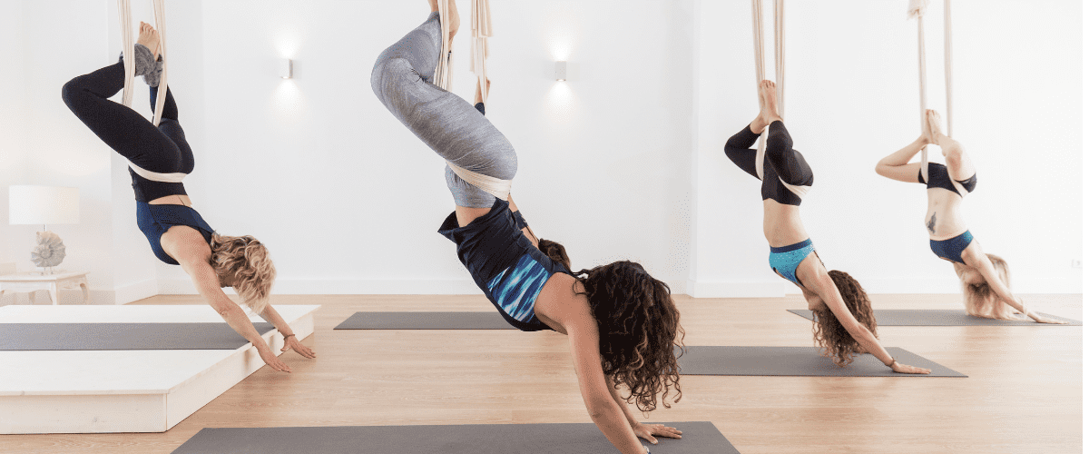 Aerial yoga classes in Reston/Ashburn