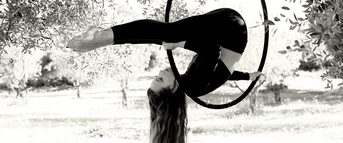 Aerial hoop classes in northern virginia